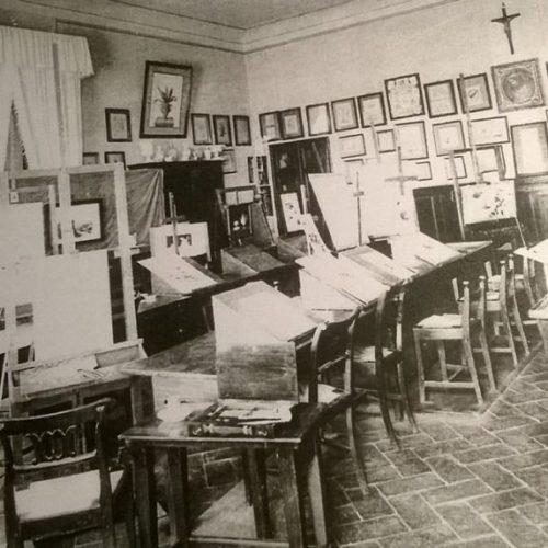 """Art class at Montalve Institute """" Alla Quiete"""" in Florence"""