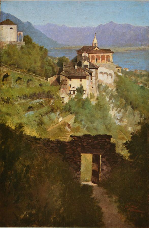 Filadelfo Simi, Locarno, la Madonna del sasso