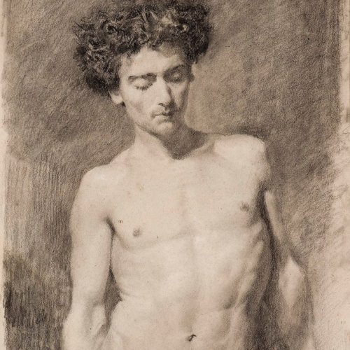 19th century academic study - Fortuny