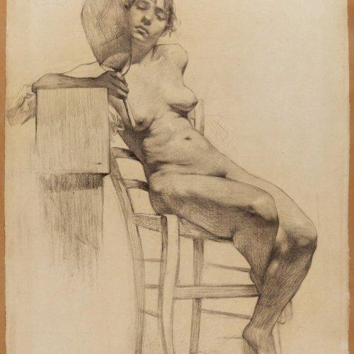 19th century academic study - Miguel Blay Y Fábrega