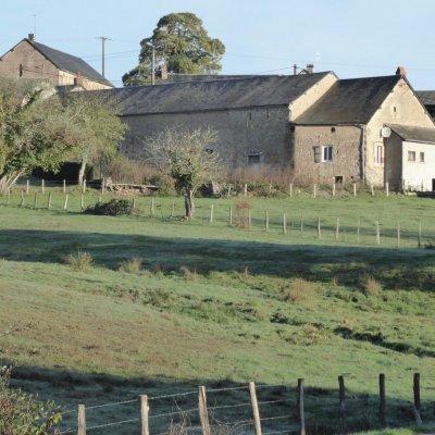 View on the grange