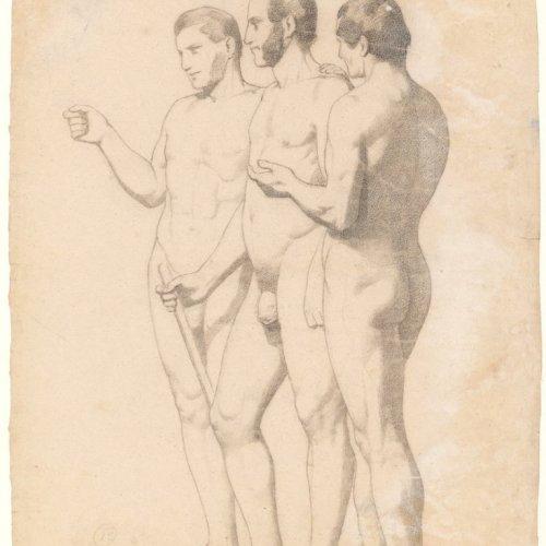 19th century academic study - Ribera Y Fieve