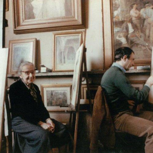 Signorina Simi met Giuliano,± 1980